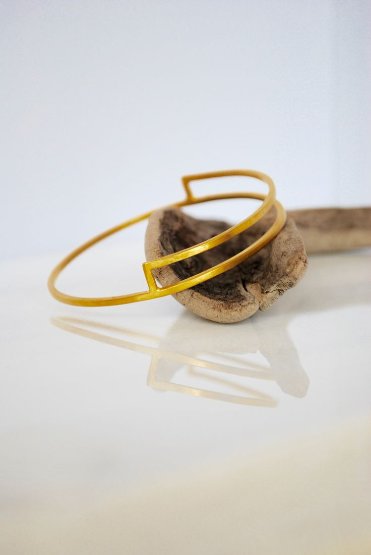 Geometric bracelet by Auralism on Etsy