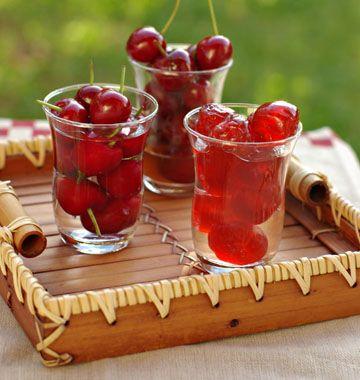 Cerises en conserve (à l'eau de vie, au vinaigre, confites) - Recettes de cuisine Ôdélices