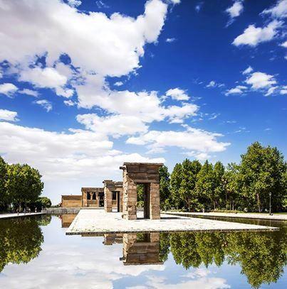 Храм Дебод был подарен Испании властями Египта в 1968 году. Храм был построен в IV веке до н.э. и посвящён богине Исиде #Spain