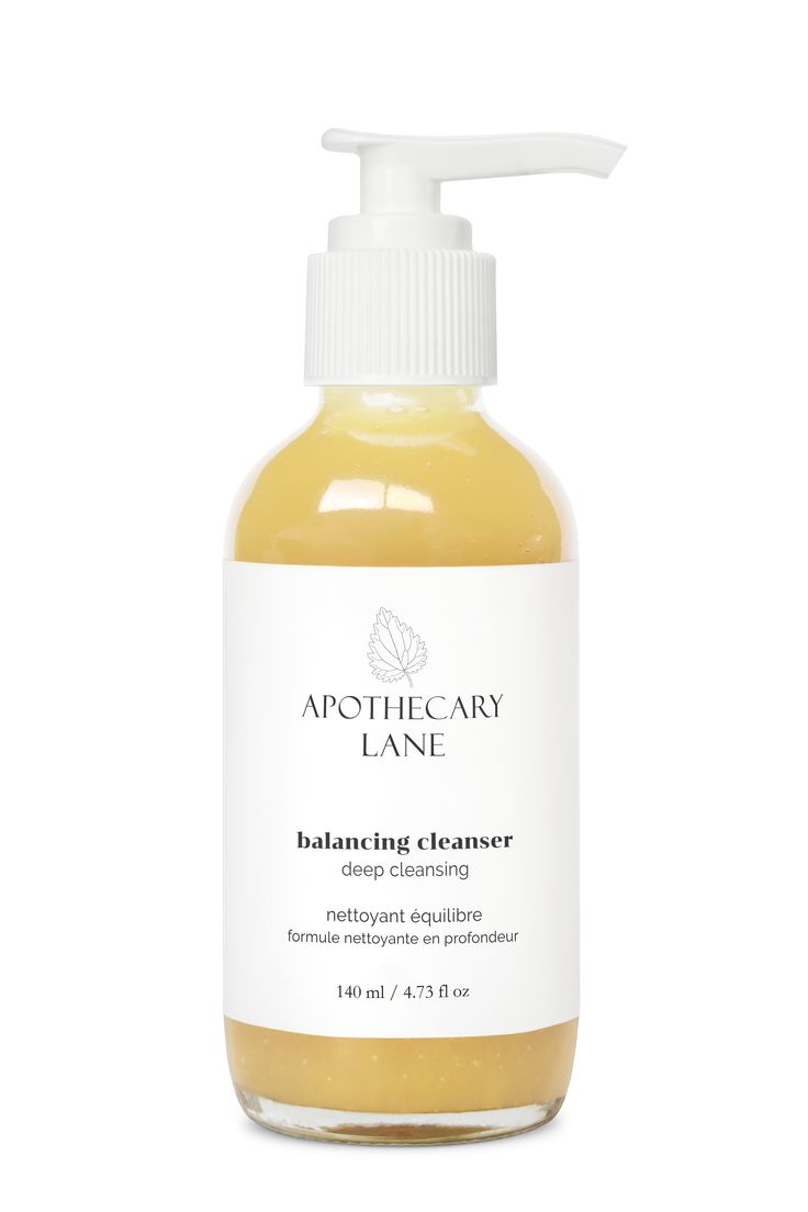 Balancing Cleanser—Deep Cleansing is both deep cleansing and nourishing.