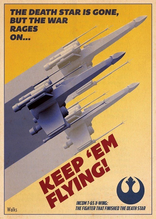 Star Wars Propaganda Poster 3