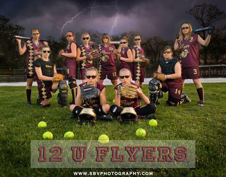 Softball team pictures ideas