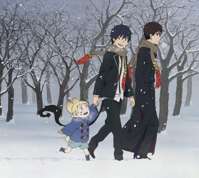 Tags: Anime, Winter, Ao no Exorcist, Okumura Rin, Okumura Yukio, Katou Kazue, Sasaki Keigo