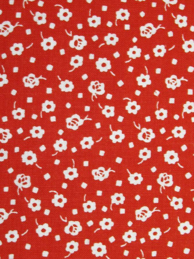 Kytička červeno-bílá 14119