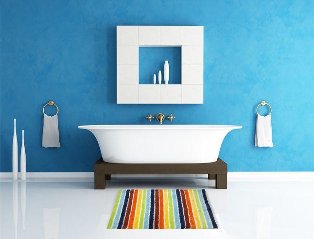 Badmat Colorado multicolor  De Colorado multicolor mat droogt snel en is daarom ideaal voor in de badkamer. #Collishop #badkamer