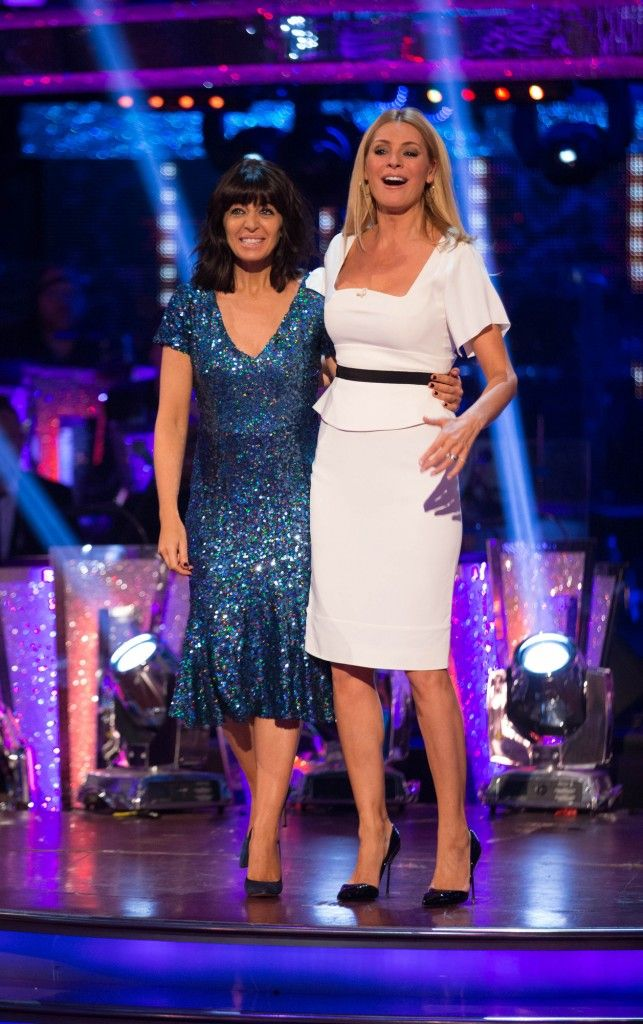 Strictly Come Dancing 2014: Week Four - Results Show - Claudia Winkleman and Tess Daly