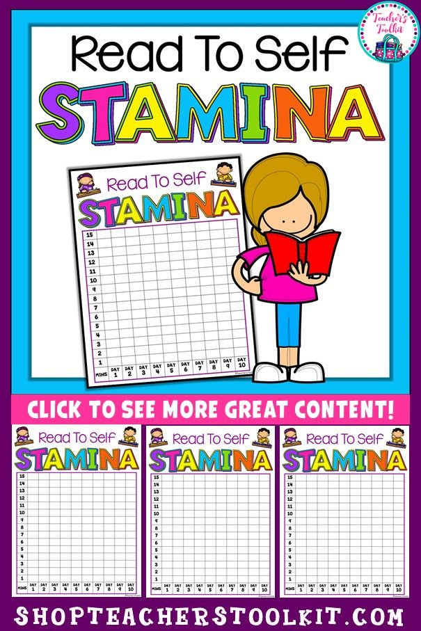 FREE. At the beginning of the year with my firsties, I try to encourage good reading behaviours using this (free) reading stamina chart. We discuss what is expected of them and why it is important. We also discuss the meaning of 'stamina' in relation to reading and why it is important.