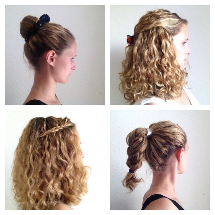 Great Easy Hairstyles For Curly Hair