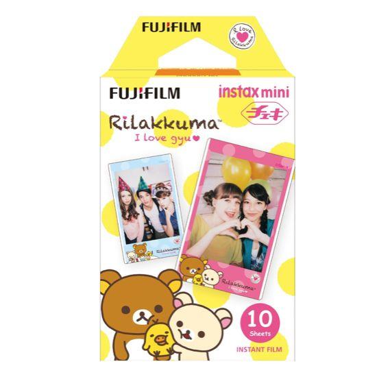 Rilakkuma Fujifilm Instax Mini Plain Film |  Single Pack (10 Film)