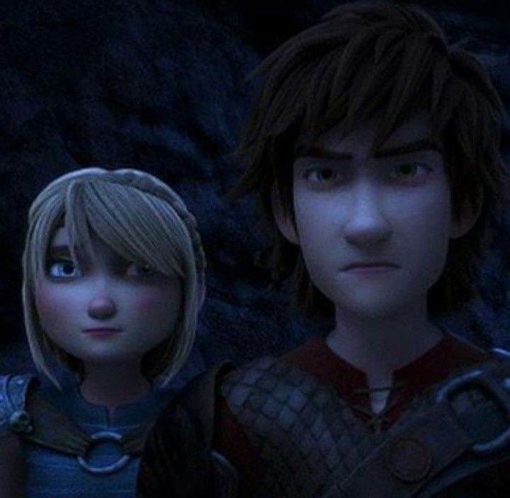 """The Hiccup is pissed off. Astrid's just like """"Well ya gone and pissed him off now. i can't help you...he's beyond reasoning."""""""