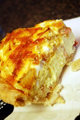 apple bacon and cheddar quiche   Good Food!!   Pinterest