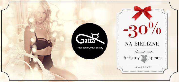 W Gatta trwa promocja -30% na bieliznę the intimate britney spears!  Zapraszamy!