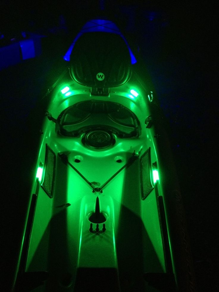 97 best images about kayak on pinterest canoe paddles for Kayak lights for night fishing
