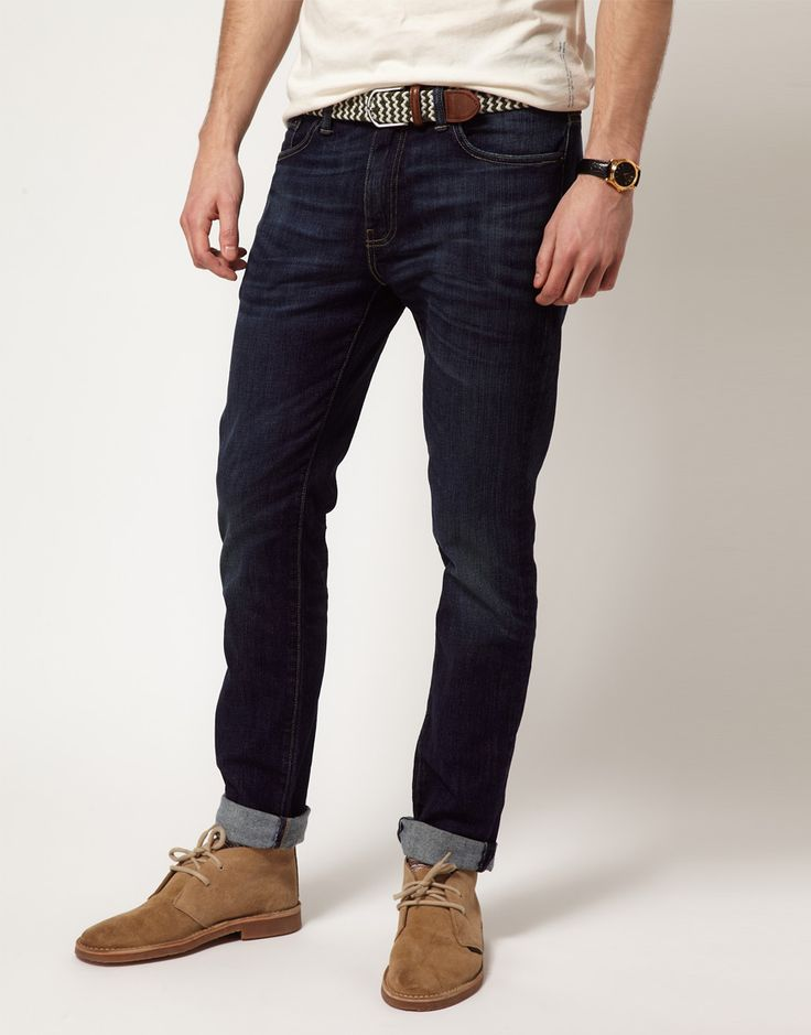 Levi's Jeans 511 Slim Tapered Fit Rain Shower Dark Wash in Blue for Men | Lyst