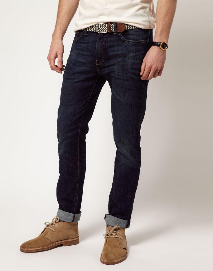 Levi's Jeans 511 Slim Tapered Fit Rain Shower Dark Wash in Blue for Men   Lyst