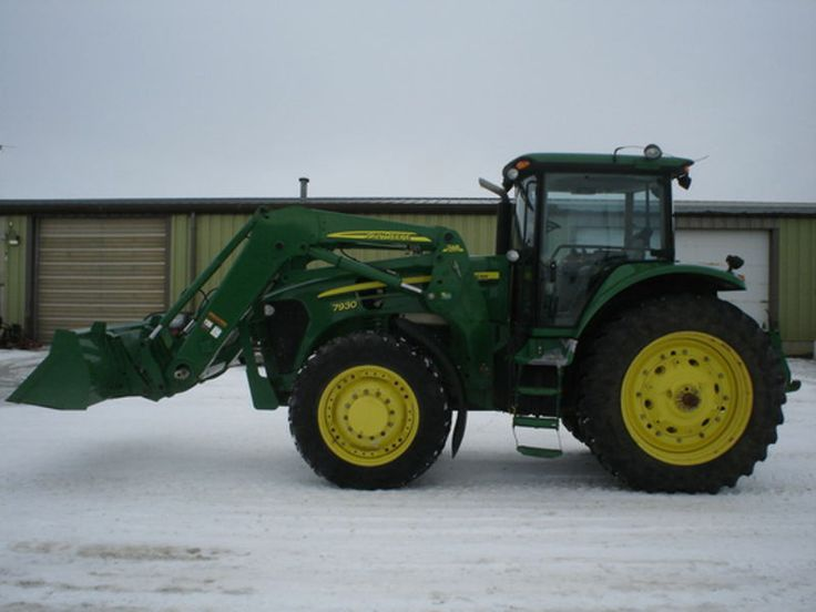 2007 John Deere 7930 with front loader