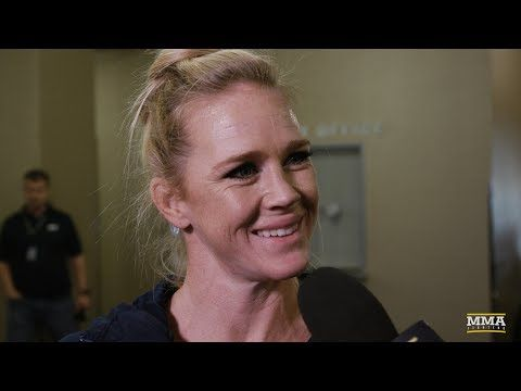 MMA Heading into UFC 219, Holly Holm Says She Prefers Familiar Pressure of Being Underdog - MMA Fighting