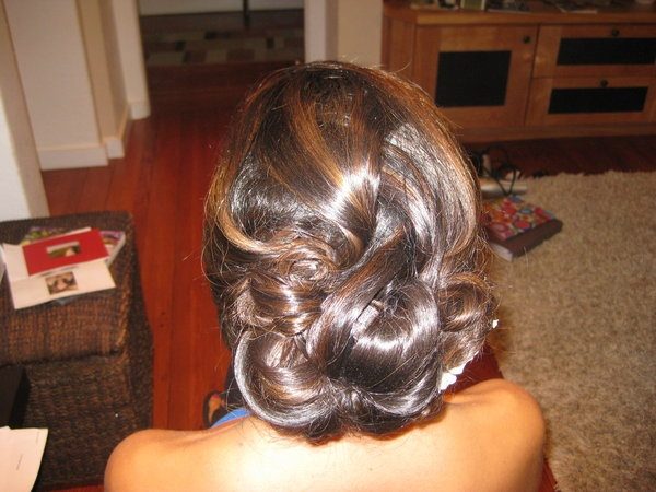 Triple love....  Hair, Updo, Elegant