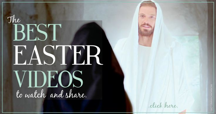 Look no further! We put together a playlist of the best videos to watch and share this Easter season.