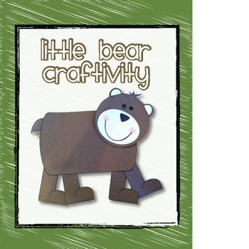 "Grab this FREE Bear Craftivity and Writing Page to supplement any Bear research activity or use it with Harcourt Trophies ""Little Bear's Friend"". This activity is part of my Harcourt Trophies Packets for First Grade."
