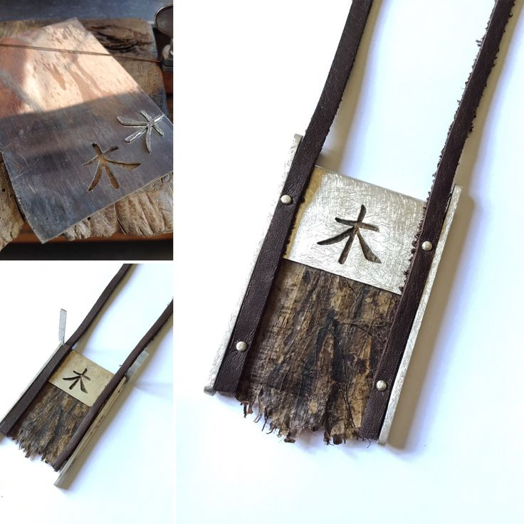 Kanji de la madera  Plata y pergamino :)