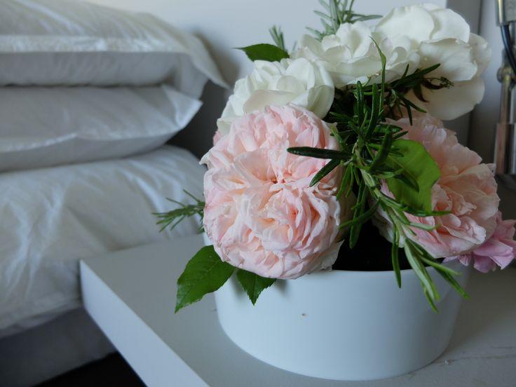 Composition florale des chambres