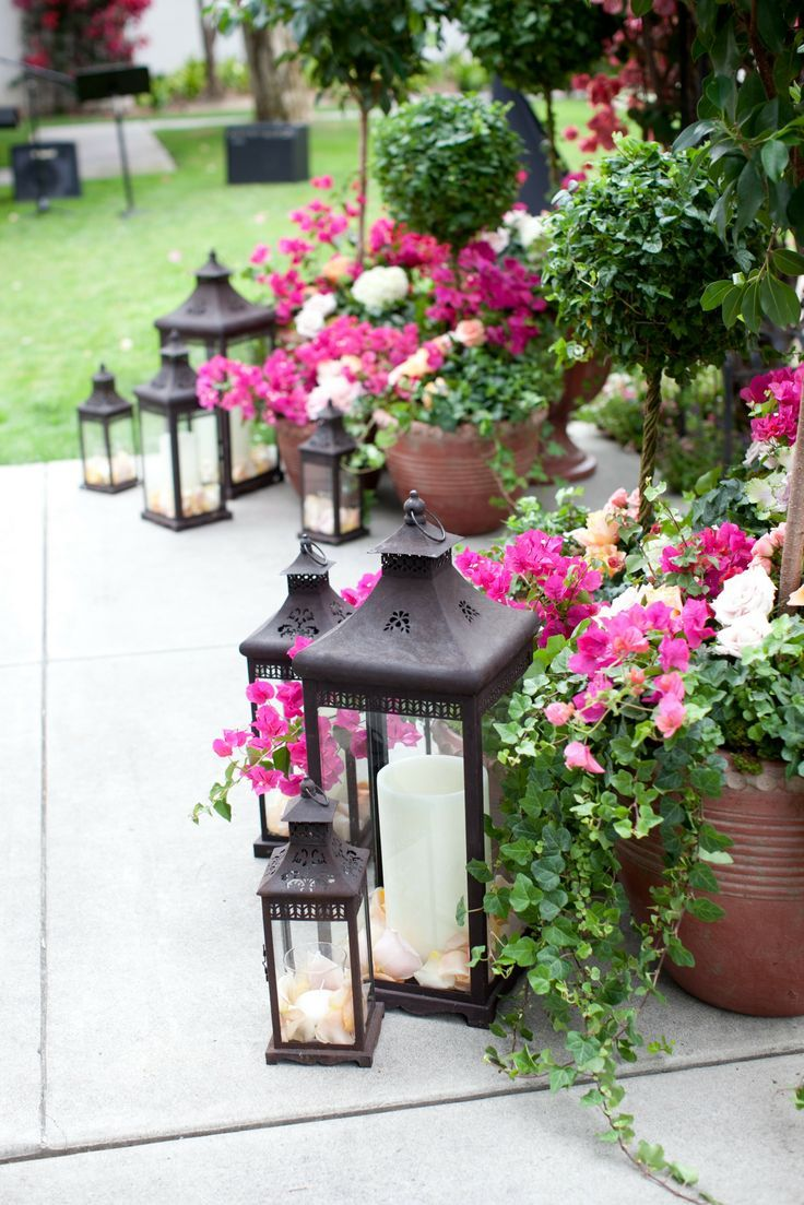 Wedding decorations outside house  monica scebba monicascebba on Pinterest