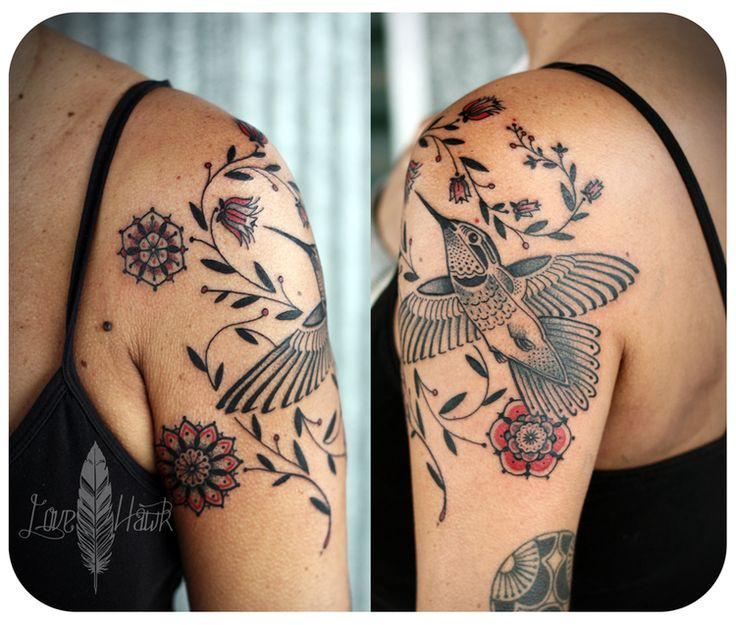 hummingbird tattoo by David Hale - davidhale.org/flesh