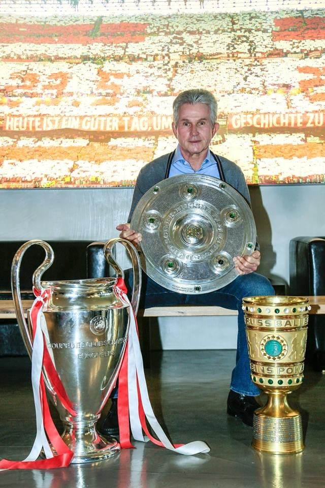 Danke Jupp Heynckes - FC Bayern -- so deserved since he was let go.