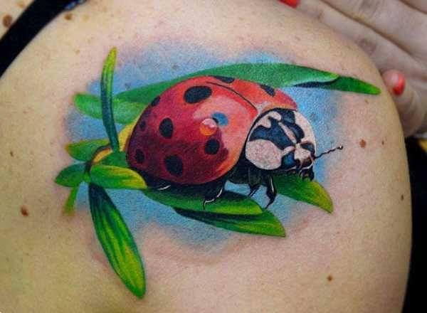Klitzekleine Marienkäfer - Tattoo Spirit