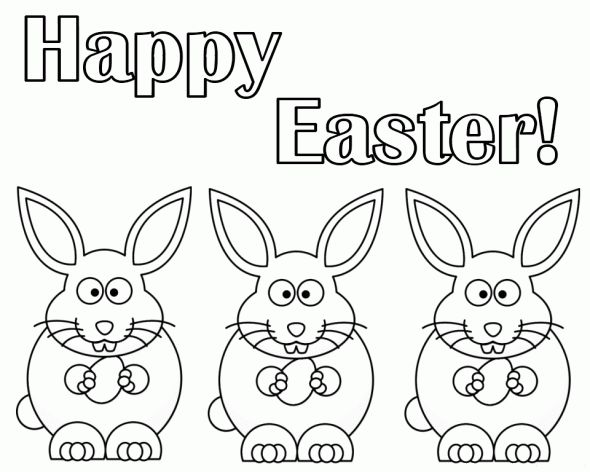 Best 25 Easter colouring ideas