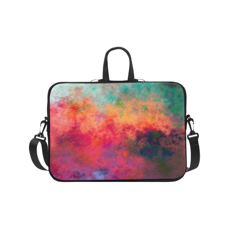 "chaos Laptop Handbags 17"".Cool Colors"
