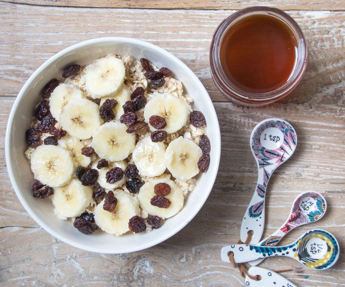 Overnight Honey Oats