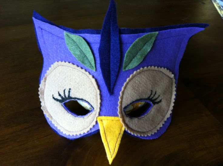 DIY owl mask and wings. Adorable.