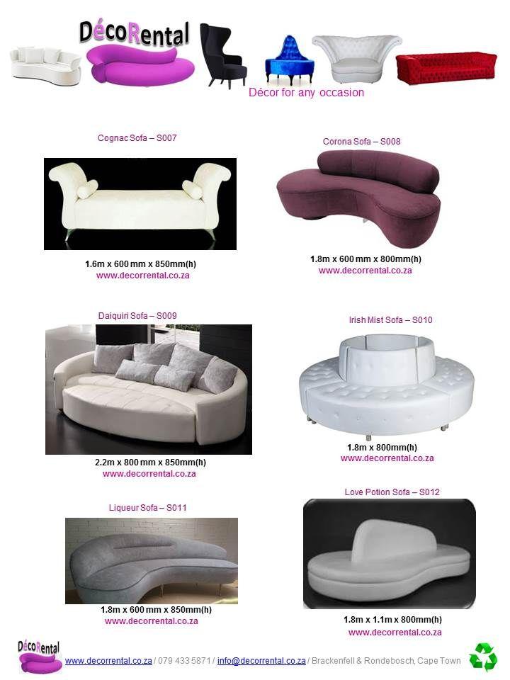 Sofa's To Rent