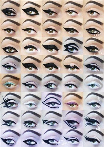eyeliner: Catey, Make Up, Eye Makeup, Cat Eye, Beautiful, Makeup Ideas, Eyemakeup, Eye Liner, Eyeliner Style