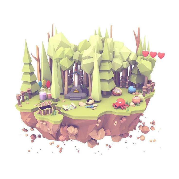 Here's another island for @twitch. This one is adventure-themed. by turnislefthome http://ift.tt/1NAj4Oi