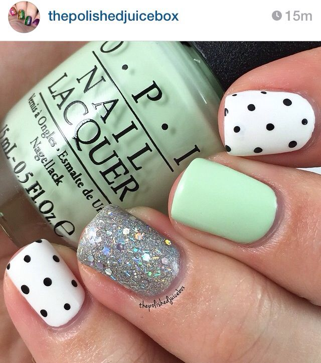25 best Spring Nails - Everyday images on Pinterest | Esmalte para ...