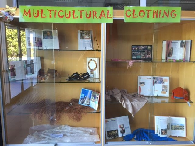 Multicultural Display for March 2016