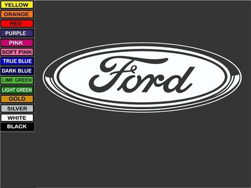 Ford motor company custom decals for cars trucks