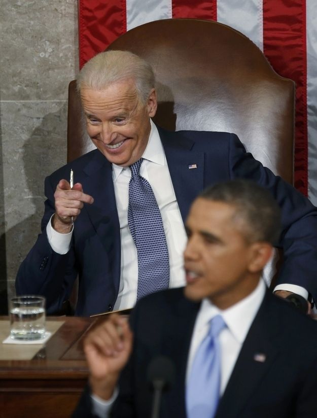 9 Things Joe Biden did at the State of the Union that were More Interesting than Obama's Speech
