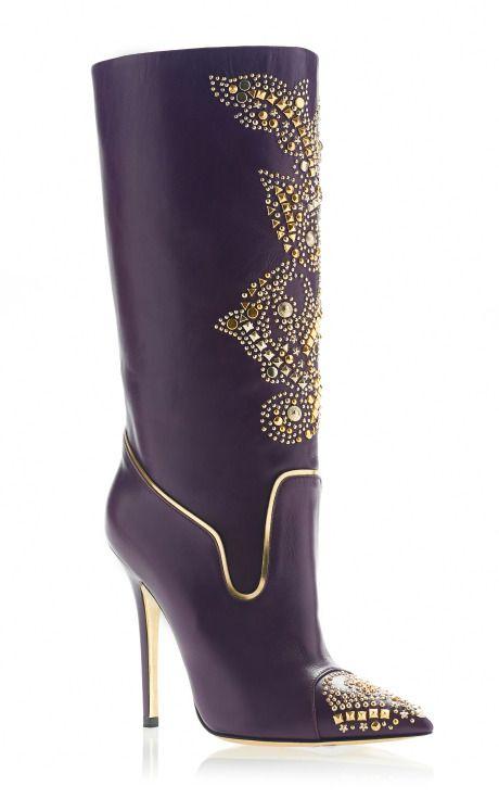 ¡Nos encantas estas botas Versace!
