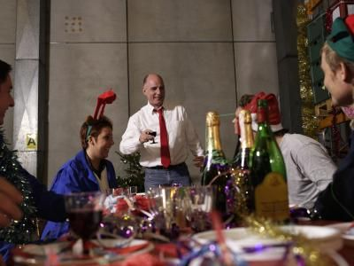 Office Christmas Party Game Ideas- I like the song scramble and the stocking guessing game