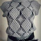 crochet jumper pattern pdf chart diagrams