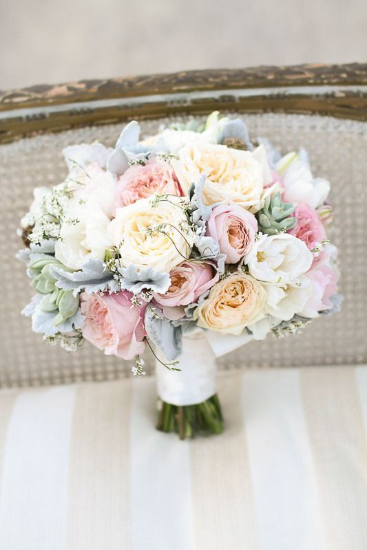 Soft pastel bouquet