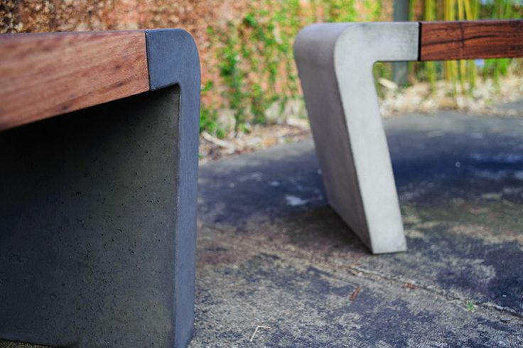 Inspired by the #7? POPconcrete Istu Bench Seat