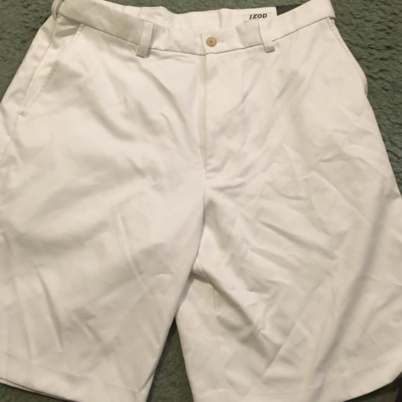 Men's izod golf pants New with tags white golf pants IZOD Shorts