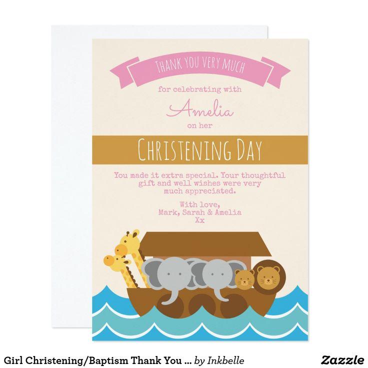 Unique Thank You Card Ideas: 25+ Unique Baptism Thank You Cards Ideas On Pinterest