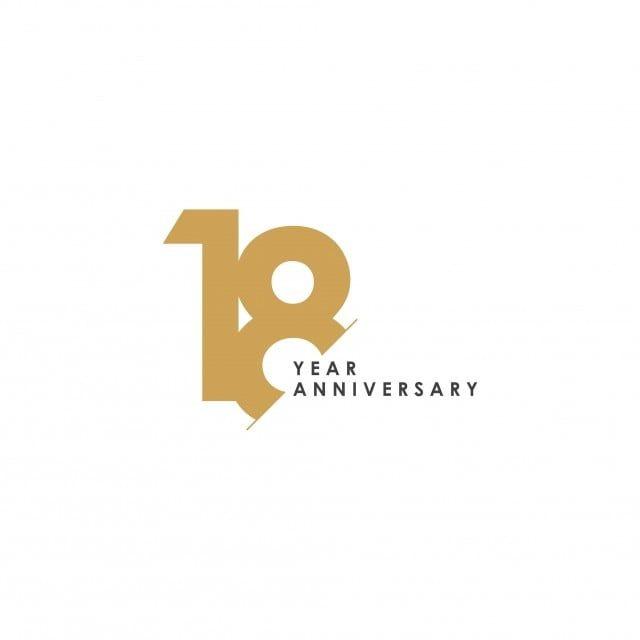 Gambar Ilustrasi Reka Bentuk Templat Vektor Ulang Tahun 18 Tahun Ulang Tahun 18 Tahun Png Dan Vektor Untuk Muat Turun Percuma 18 Year Anniversary Company Anniversary Anniversary