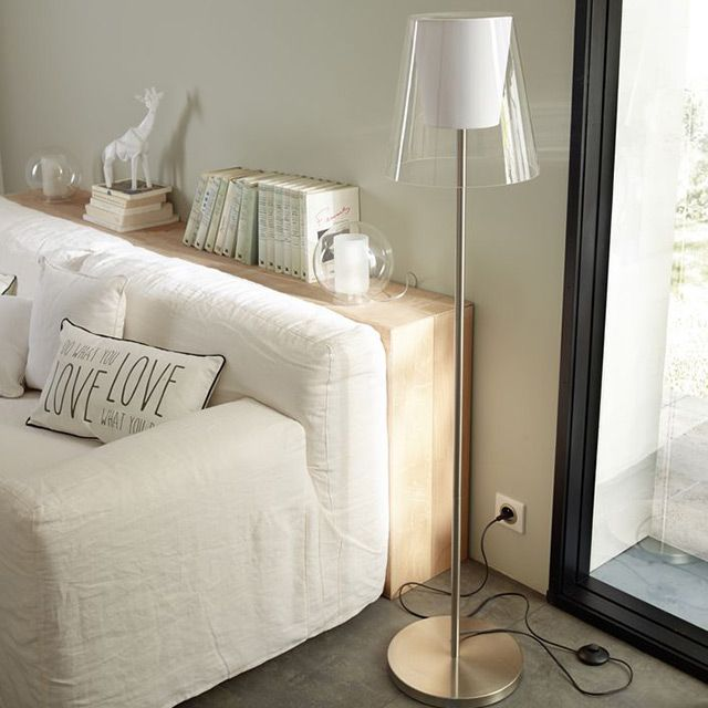 1000 id es sur le th me abat jour blanc sur pinterest lampe en bois unit s et suspension. Black Bedroom Furniture Sets. Home Design Ideas